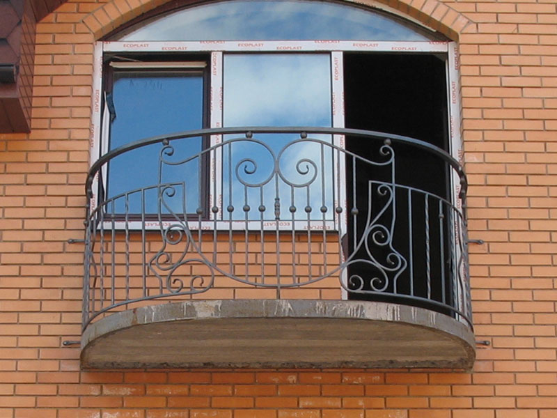 Кованые балконы фото и цены, кованые ограждения балконов.
