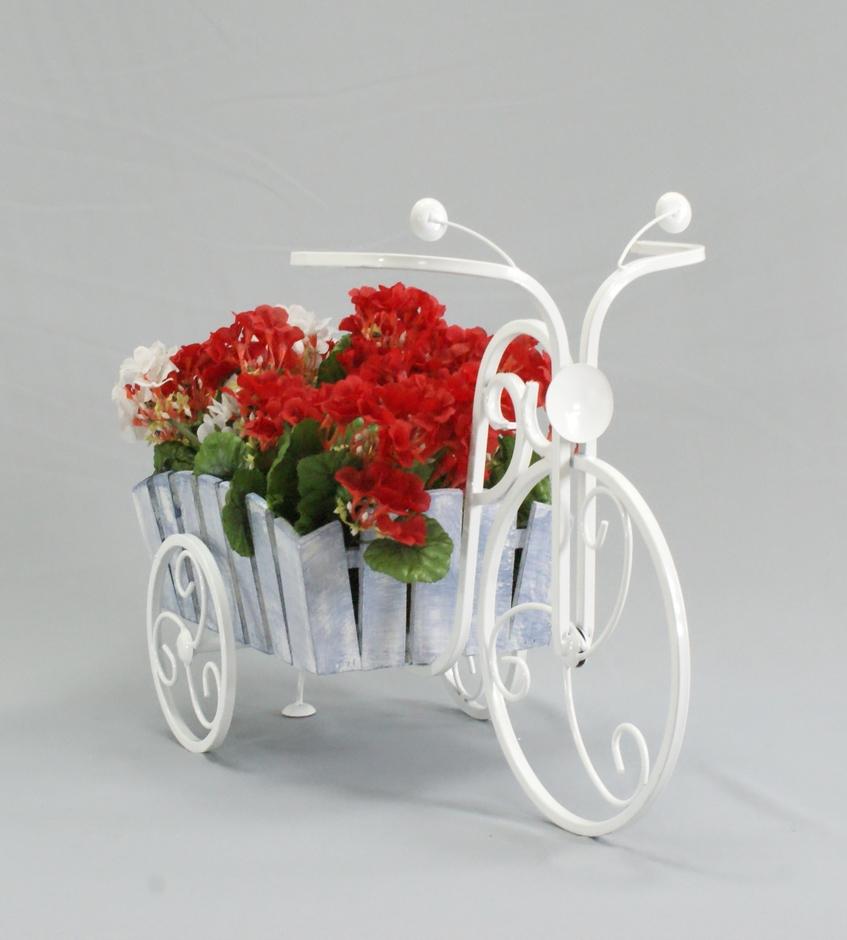 Подставка велосипед для цветов