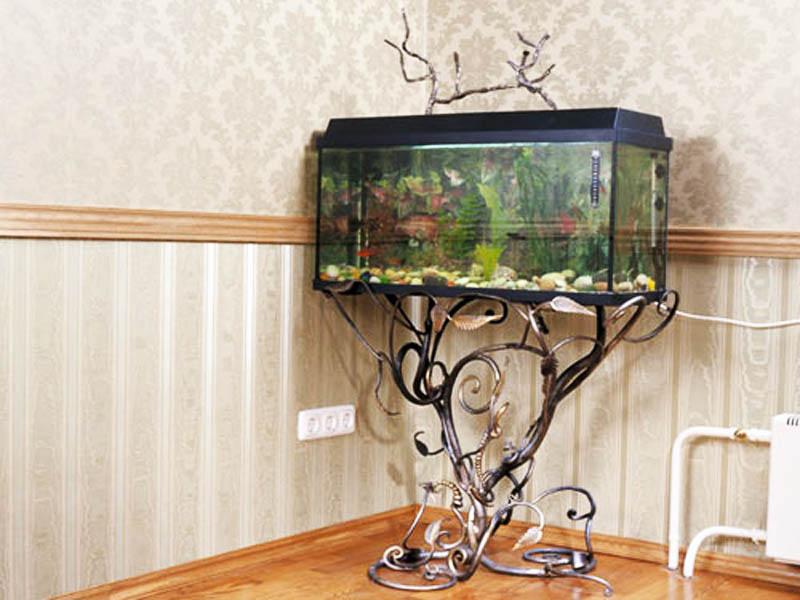Подставка аквариум своими руками