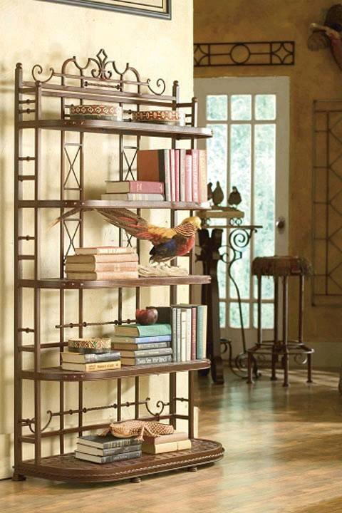 Кованые полки для книг цена, фото кованых полок для книг, ку.