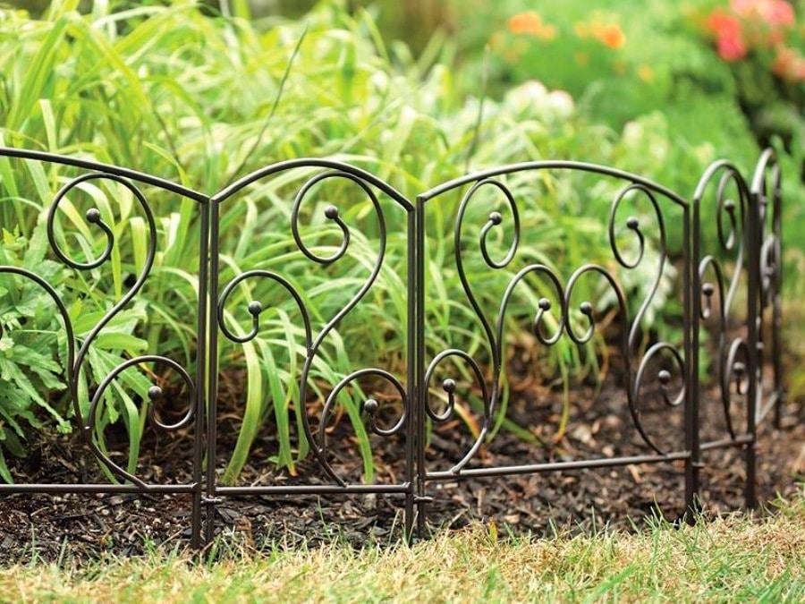 Ограда на кладбище своими руками из подручных материалов 85