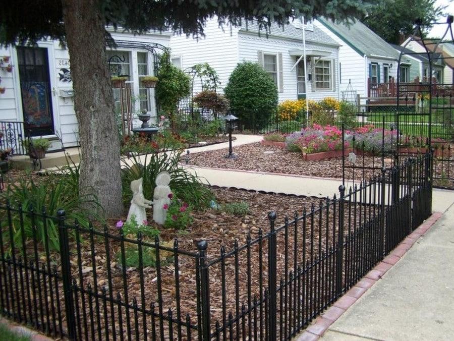 Ограда для палисадника своими руками 30