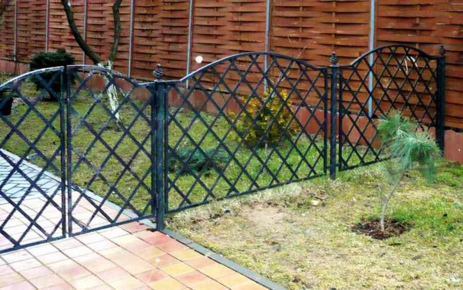 Железный забор своими руками 926