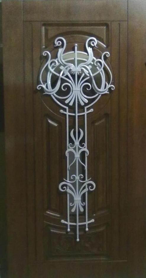 кованые накладки на металлические двери