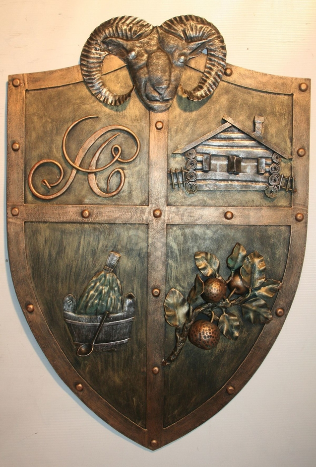 кованые гербы фото судьба будет покорна